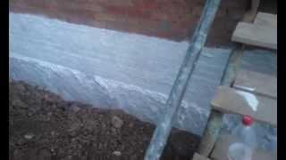 Гидроизоляция стен фундамента(Гидроизоляция стен,цоколя,фундамента жидкой резиной Более подробная информация на сайте http://xn----dtbbepebb0a1acdathr..., 2014-09-13T17:56:55.000Z)
