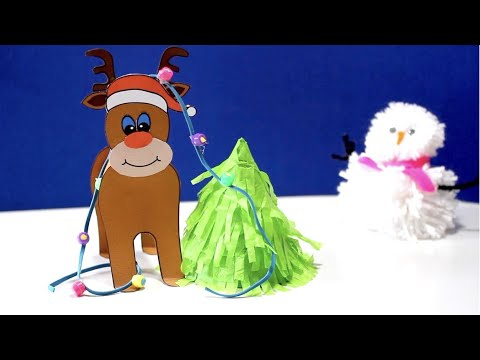 How to Make a Paper Reindeer?