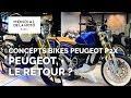 Concepts bikes Peugeot P2X - nouveautés 2019