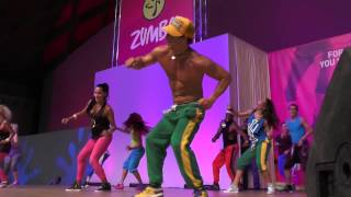 Beto Perez on Rimini Wellness 2014 - song Jive Bunny & The Mastermixers - Can Can You Party [HD]