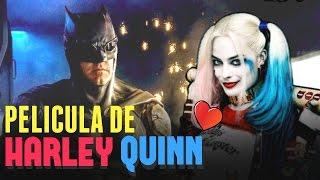 PELÍCULA DE Harley Quinn y NUEVO TRAJE DE Batman  Justice League