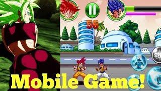New Dragon Ball Fighting game for mobile Android/IOS 2019