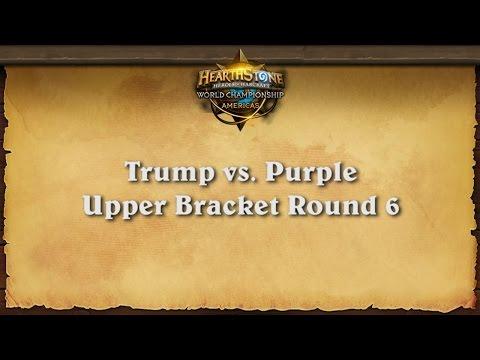 Trump vs. Purple - Game 7 - North American Qualifier Tournament