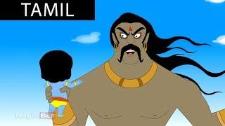 Trinavart - Krishna vs Demons In Tamil - Animated / Cartoon Stories For Kids