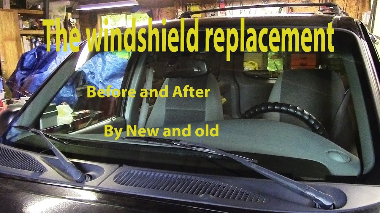 The Ford Explorer Windshield Replacement Before And After
