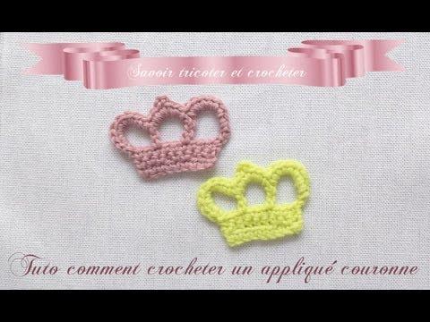 Tuto Couronne Au Crochet