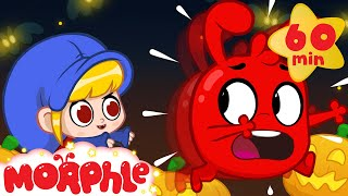 Morphle Is Scared Of Mila   Halloween Cartoons For Kids   My Magic Pet Morphle