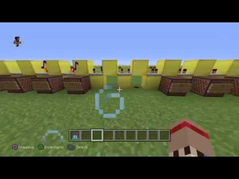 Minecraft Note Blocks Song: