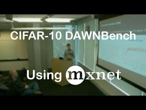 "CIFAR-10 for DAWNBench feat. ""Super Convergence"""