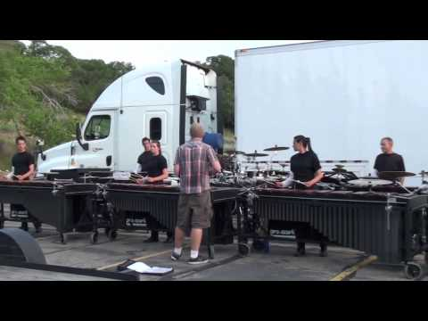 Blue Devils Pit in the Lot, July 3rd 2013, DCI 2013, Drumline, Percussion