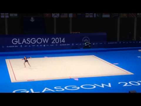 Julene Van Rooyen - Clubs, Commonwealth Games 2014 Glasgow