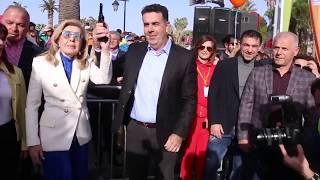 ArgolidaPortal.gr Μαραθώνιος Ναυπλίου 2018-Εκκίνηση Δ.Κωστούρος-Μ.Βαρδινογιάννη