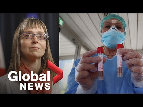 Coronavirus outbreak: Alberta expects rising number of cases resulting from expanded testing | FULL