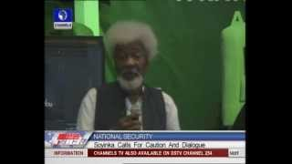 Nigeria Is On The Brink Of Another Civil War - Soyinka
