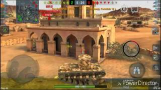 WoT Blitz - KV-2 compilation #5
