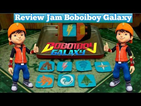 "Download Review Jam Boboiboy Tahap Ke 2 ""BOBOIBOY GALAXY"" Model ke 2 BY Supra Kreatif"