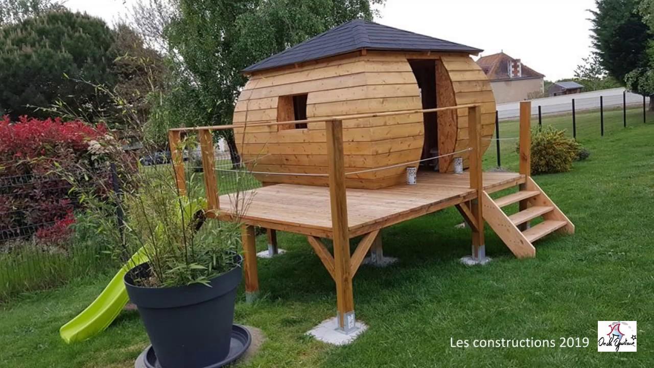 Fabriquer Un Petit Pont De Bois plan cabane enfant-15 cabanes à construire soi-même.