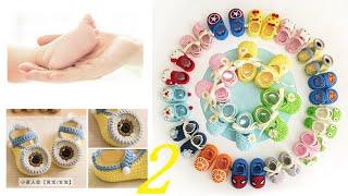 鉤針編織嬰兒鞋 小黃人款 2/4 thumbnail