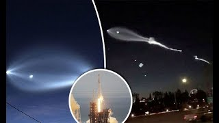 AVISO GLOBAL: LA ÉLITE EMPIEZA A ABANDONAR LA TIERRA CON COHETES DE SPACE X vistos en California