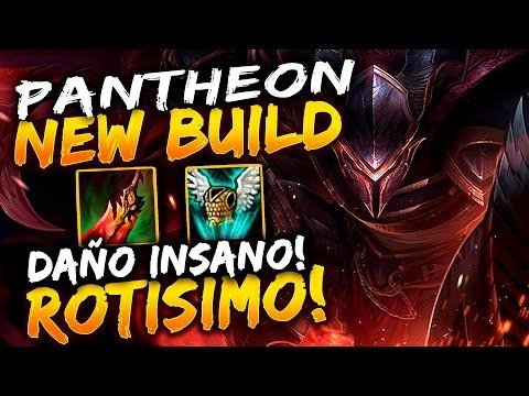 PANTHEON TOP | NUEVA BUILD OP!! VUELVE EL AUTENTICO E INIMITABLE PANADERO!! eldelabarrapan | lol