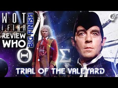 Wot i Fink : Review Who : Big Finish - Trial Of The Valeyard