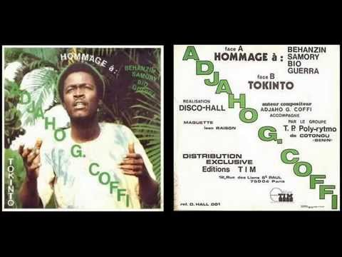 Adjaho G. Coffi backed by T.P. Poly-Rythmo de Cotonou - Benin – Tokinto