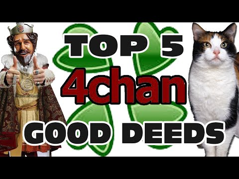 Top 5 4chan Good Deeds - GFM