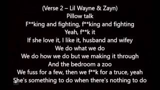 ZAYN – Pillowtalk Remix ft  Lil Wayne Lyrics