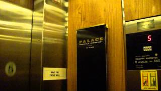 Amazing Old 1952 (m. 1988 & 1991) and 1989 KONE Traction Elevators/Lifts@PALACE, Helsinki, Finland