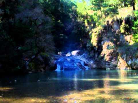 cascada en agua blanca hidalgo cerca del centro turistico