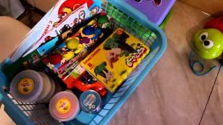 Наши игрушки+Покупки развивающих игрушек для ребенка 1,5лет