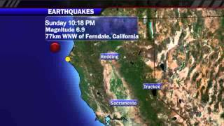 California Earthquake: 6.8 Temblor Erupts From Hot Spot Off Northern Coast