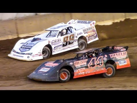 Super Late Model Heat Two | Old Bradford Speedway | 7-20-18