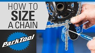 How to Size a Bicycle Chain