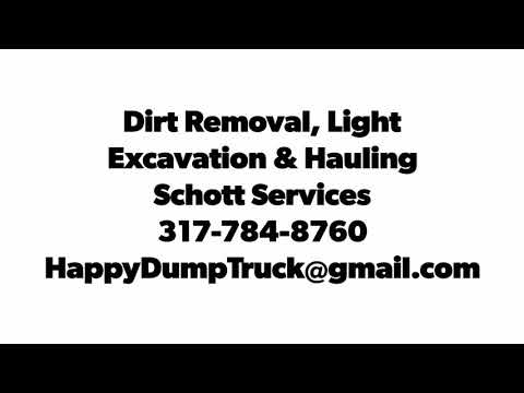 Dirt Removal, Light Excavation & Hauling