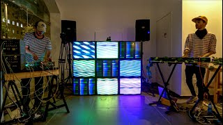 Peter Spacey x Analog Front - 2 Artists and art Installation - Audio-Visual Dialogue