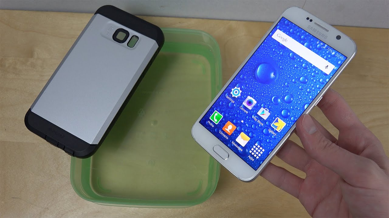 on sale 7a6cc c17df Samsung Galaxy S6 Water Resistant Supcase - Will It Survive?