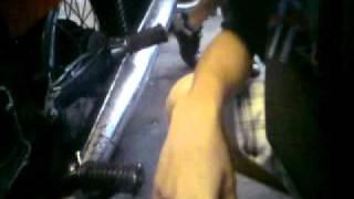 extrémní oprava motorek- alternátor I.