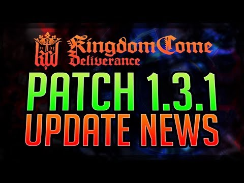 PATCH 1.3.1 - NEUE FEATURES - Save & Exit Kingdom Come Deliverance