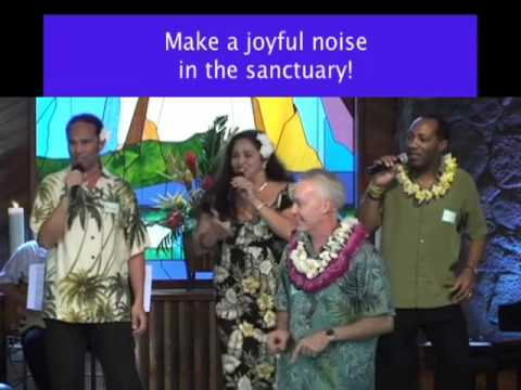 Opening song - Sing from Unity Church of Hawaii service 6-28-09