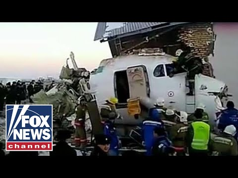Search for survivors underway in deadly plane crash in Kazakhstan