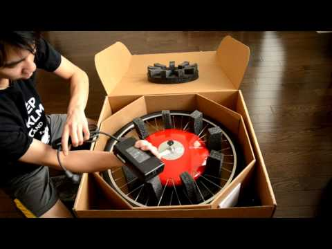 Superpedestrian Copenhagen Wheel Unboxing