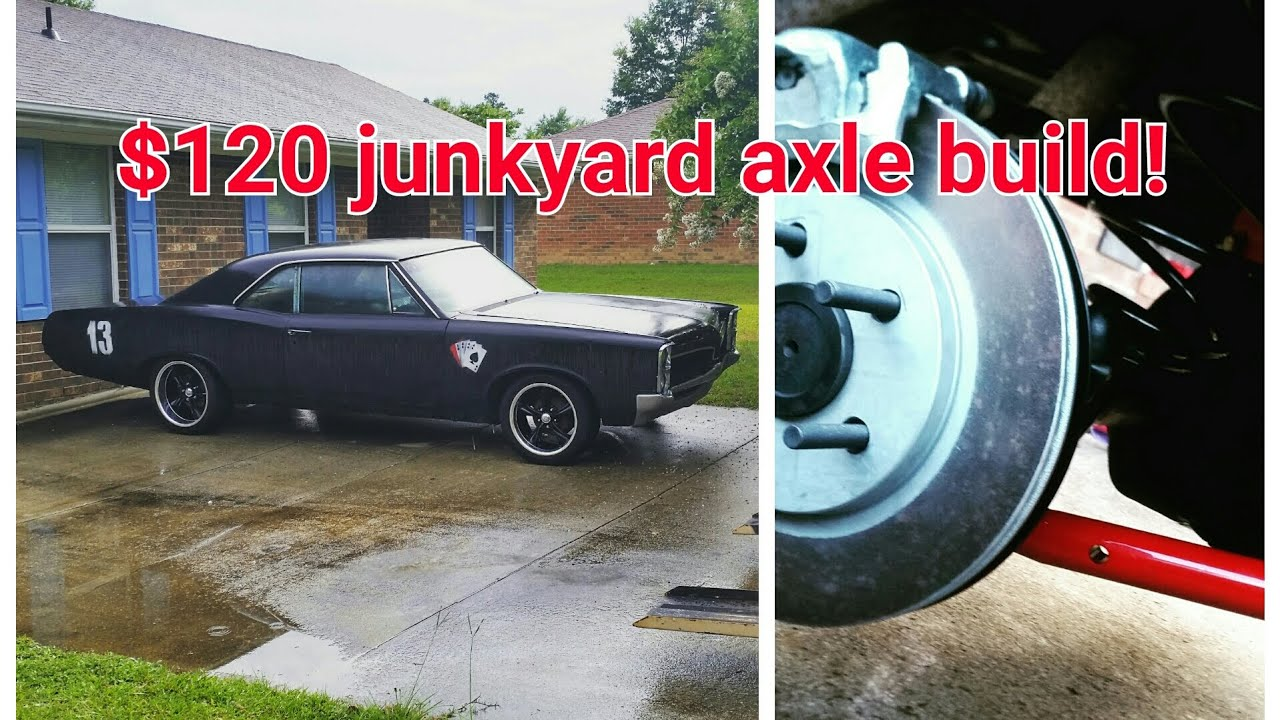 junkyard 9 inch ford rear end for your muscle car, build on a budget ...