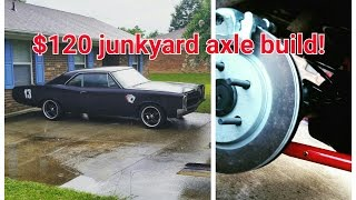 junkyard 9 inch ford rear end for your muscle car, build on a budget 1967 GTO