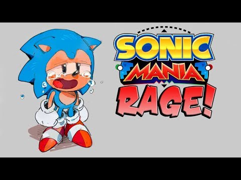 WORST EVER SONIC PLAYER?! Sonic Mania Rage Montage!