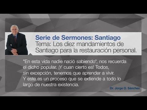 Los diez mandamientos de Santiago para la restauración personal.