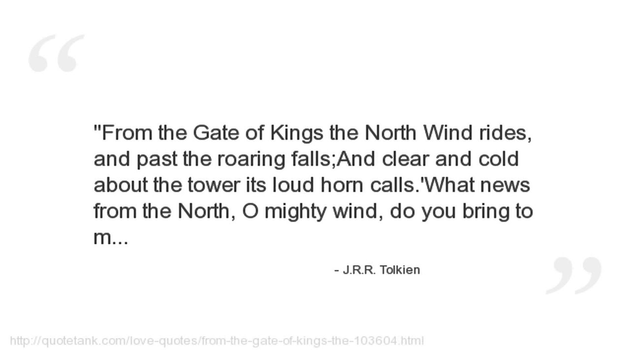 Jrr Tolkien Quotes Youtube