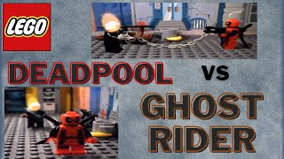 Lego Deadpool vs Ghost Rider