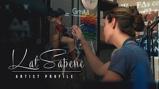 Video Artist Profile: Kat Sapene - Physics in Art | Sideshow Collectibles download MP3, 3GP, MP4, WEBM, AVI, FLV Juli 2018