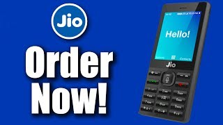 Jio 4G Feature Phone - How To Order? When? Where? All You Need To Know!